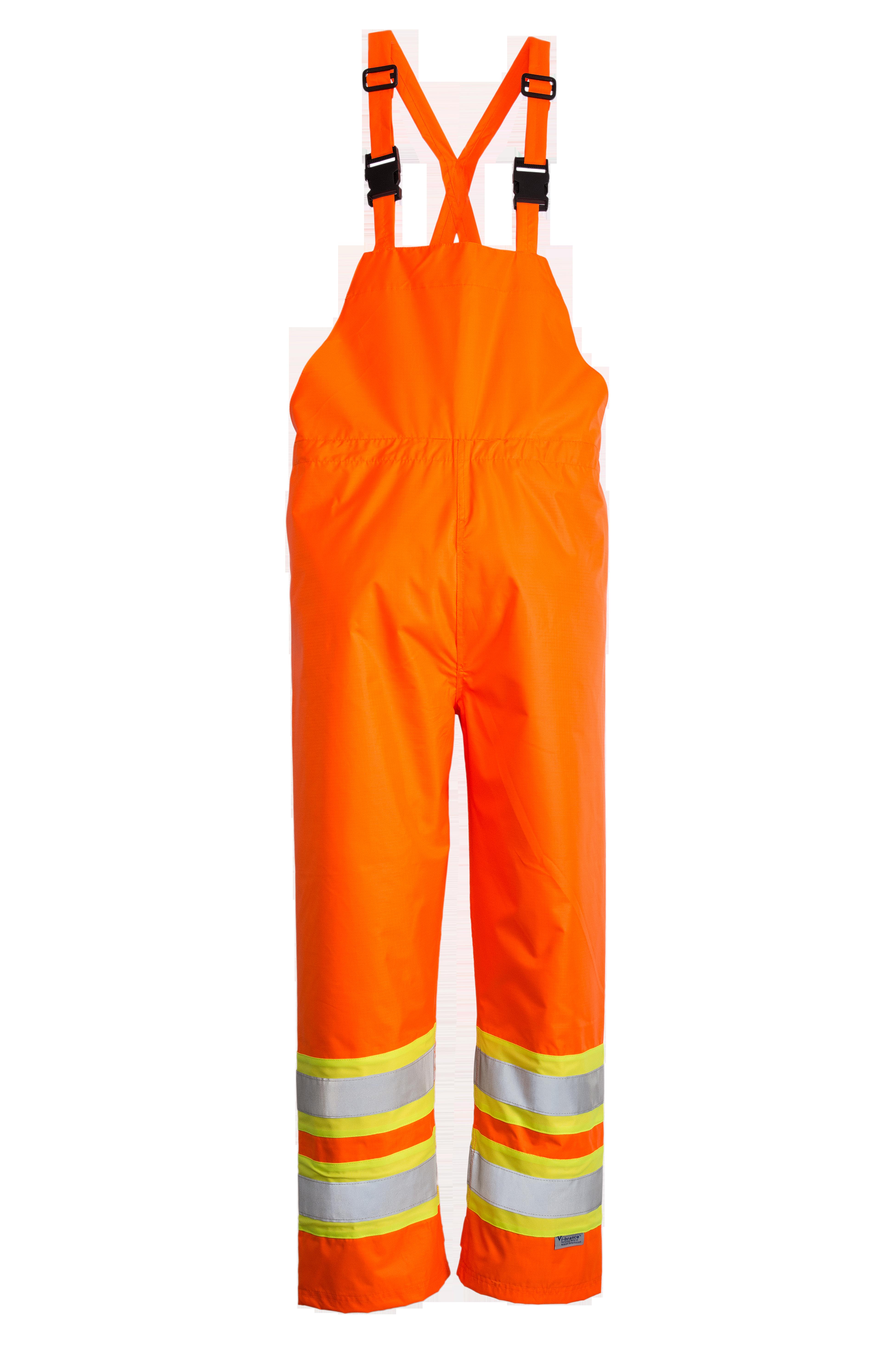 Viking Open Road 150D Hi-Vis Waterproof Rain Bib Pants